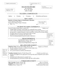 resume for high school teacher resume examples  resume for high school teacher