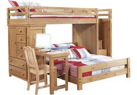 creekside taffy twinfull step bunk bed with desk and chest bunk bed dresser desk