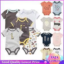 Have Stock <b>0</b>-<b>24M</b> Newborn Cloth Cotton Bodysuit Baby <b>Infant</b> ...