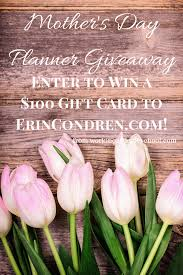 ErinCondren.Com $100 Gift Card Giveaway! - The Well Planned ...