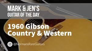 Norman's Rare <b>Guitars</b> - <b>Guitar</b> of the <b>Day</b>: 1960 <b>Gibson</b> Country ...