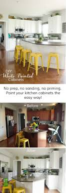 chalk paint kitchen cabinets