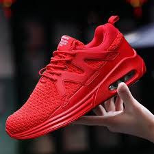 Men Breathable Mesh Sneakers <b>Outdoor Sport Fashion</b> Trainers ...