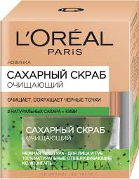 <b>Сахарный скраб</b> для лица очищающий - <b>L'Oreal Paris</b> Sugar Scrub