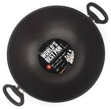 Купить <b>Сковорода</b>-<b>вок AMT</b> Gastroguss AMT1132 32 см, черный ...