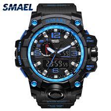 <b>Man Watch 2017 SMAEL</b> Brand Sport <b>Watches</b> Date Alarm ...