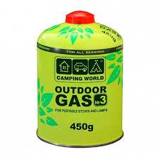 <b>Газовый баллон Camping World</b> 450г (резьбовой)