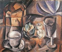 File:Pablo Picasso, 1909, Still Life, Casket, <b>Cup</b>, Apples and Glass ...