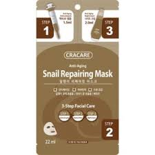 <b>Маска для лица Cracare</b> Anti-Aging Snail Repairing Mask ...