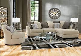 picture of meridian springs beige 2 pc sectional from sectionals furniture beige sectional living room