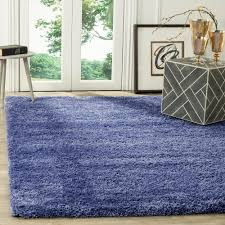 california shag periwinkle 4 ft x 6 ft area rug california shag black 4 ft