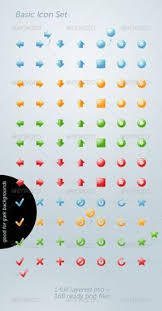 basic icon set graphicriver some basic icons for web design different arrows and other basic icons flat icons 1000