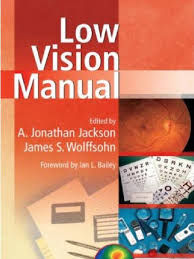 low vision manual visual impairment visual perception