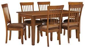 ashley furniture kitchen tables: ashley furniture berringer  piece x table amp chair set item number d