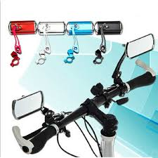 <b>1 Pair Bicycle</b> Mirror Aluminum Alloy Bike Rear View Mirror Safety ...