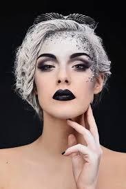 high fashion gothic makeup art ideas