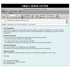 Email Cover Letter Signature Gallery Cover Letter Ideas