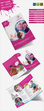 14 daycare brochure templates psd eps illustrator ai excellent day care a4 bi fold brochure template daycare a4bifoldbrochure