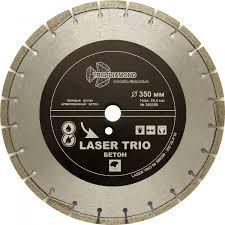 <b>Диск алмазный</b> отрезной 350*25,4*12 <b>Trio Diamond</b> Лазер бетон ...
