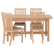 4 chair kitchen table: norden norrnas table and  chairs birch isunda gray length  quot