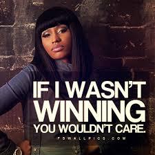 Nicki Minaj Quotes About Haters. QuotesGram via Relatably.com