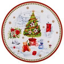 <b>Тарелка Подстановочная</b> Lefard, Новый Год !, <b>27 См</b>, Столовая ...