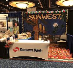 sunwest bank linkedin stop by and us at booth number 413 to out how sunwest bank can help your association today sunwest bank is a member fdic and equal housing