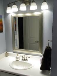 diy bathroom lighting over mirror undercounter sink mounting contemporary bath mirrors wall mounted towel warmer bathroom lighting over mirror