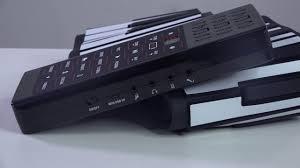<b>Portable Electric</b> 88 Keys Flexible <b>Silicone</b> Piano Keyboard - YouTube