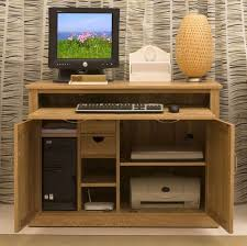 baumhaus mobel oak hidden home office desk cor06a baumhaus mobel solid oak hidden home office