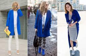 Синее <b>пальто</b> с чем носить, стильные советы и интересные ...