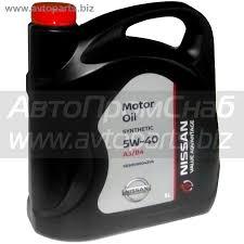 <b>Масло моторное NiSSAN</b> VA <b>Motor Oil</b> 5W-40, 5 л / KE900-90042 ...