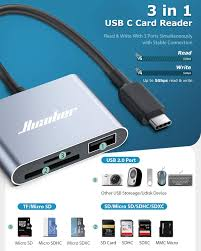 Hicober USB C to SD Card Reader, Micro SD Memory ... - Amazon.com