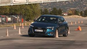 How Does The New <b>Audi A3</b> Fare In The Difficult Moose Test?