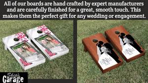 Custom <b>Wedding</b> and <b>Engagement</b> Cornhole Boards   Best ...