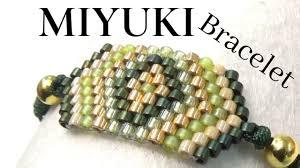 <b>Miyuki Bracelet</b> with Brick Stitch - Easy Technique for beginners ...