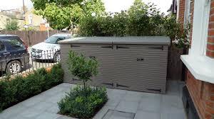 sheds bike shed and wimbledon london on pinterest bespoke wall storage
