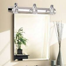 modern crystal mirror bathroom vanity light 6w wall cabinet fixtures bathroom lighting fixtures over mirror