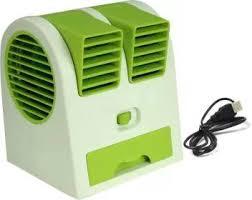 Frocel High Selling <b>USB Mini Cooler Portable Mini</b> Dual Bladeless ...