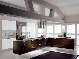 modern kitchen setup: kitchen pretty kitchen modern glossy and stylish l shape espresso kitchen cabinet set feature white quartz countertop and stainless steel sink in addition