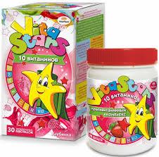 """Мультивитаминный <b>комплекс</b> """"VitaStars"""", 10 <b>витаминов</b>, со вкусом ..."""