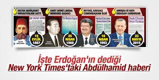 New York Times'taki Abdülhamid haberi