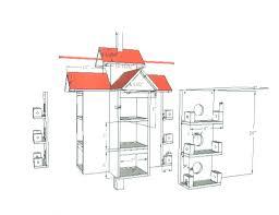 Amazing Martin House Plans   Purple Martin Bird House Plans Free        Amazing Martin House Plans   Purple Martin Bird House Plans