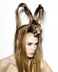 cabelos bizarros