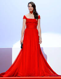 Berenice Bejo, Bond girl, Cannes 2012, red dress, louis vuitton, chopard jewellery