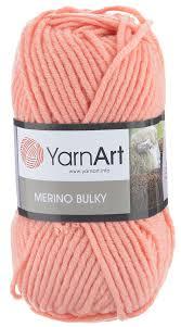 "<b>Пряжа</b> для вязания <b>YarnArt</b> ""<b>Merino Bulky</b>"", цвет: персик (565), 100 ..."