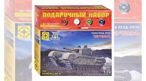 Сборная модель Моделист <b>Танк Черчилль</b>, Серия: Танк... купить ...