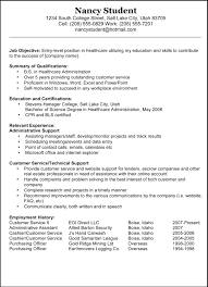 best resume objectives examples  seangarrette coa good sample resume objective examples great