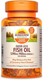 Fish Oil by Sundown, Dietary Supplement, Omega 3 ... - Amazon.com