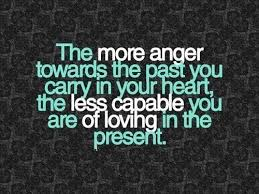 The more anger towards the past you carry in your heart, the less ... via Relatably.com